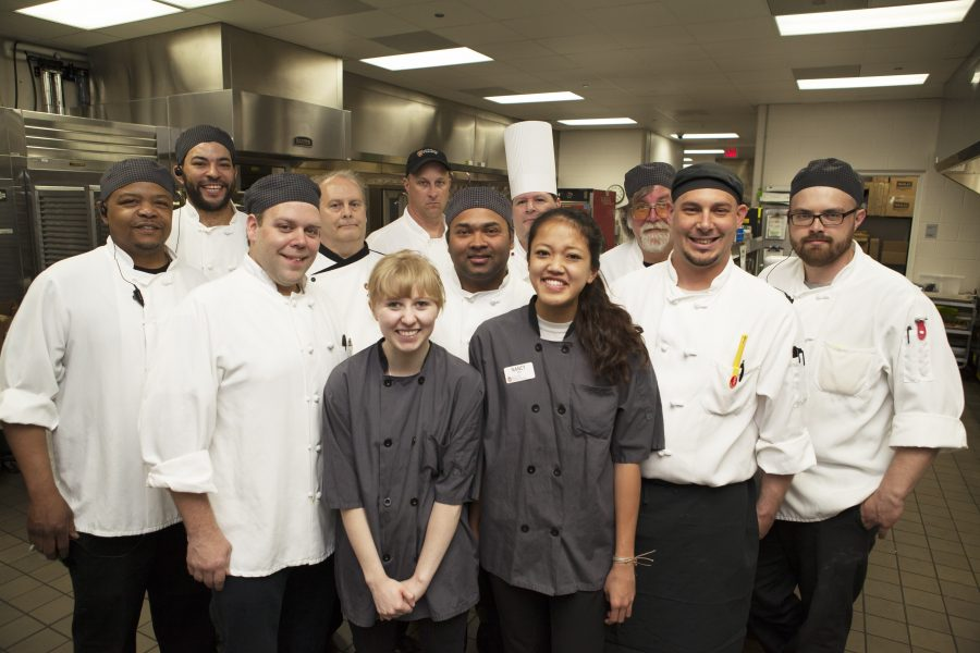Dining Staff members