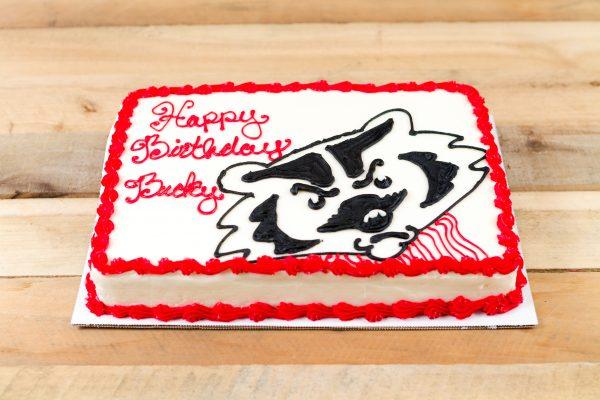Bucky birthday cake