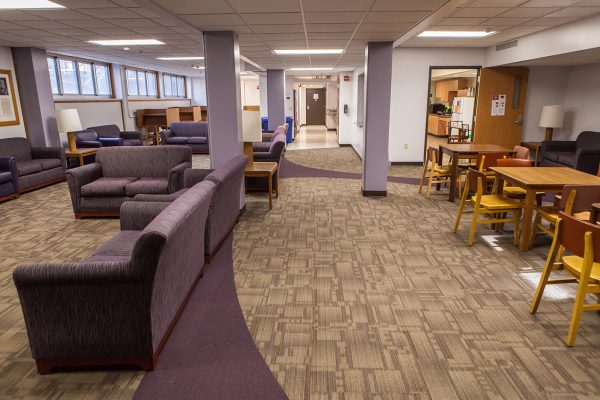 Cole Hall common space