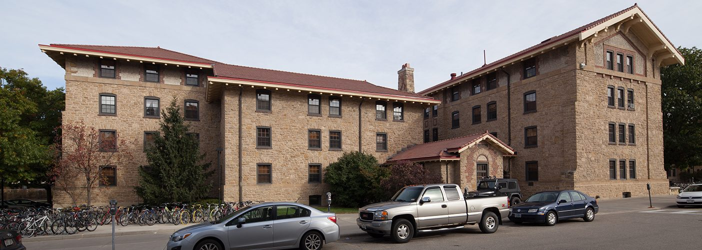 Adams Hall exterior