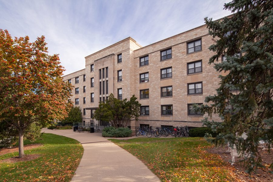exterior of Slichter Hall