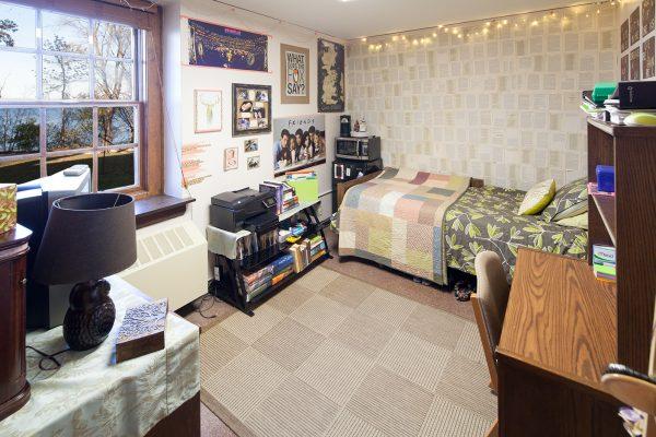 Best Room Contest finalist's room in Tripp Hall