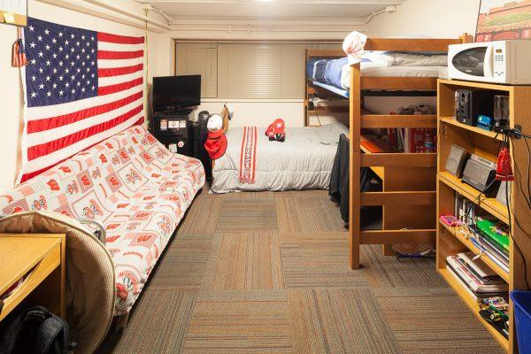 Best Room Contest finalists' room in Sullivan Hall