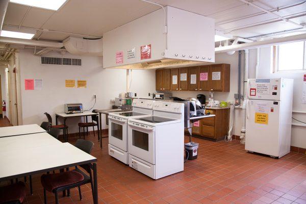 Davis Hall resident kitchen