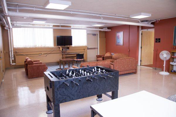 Davis Hall common room