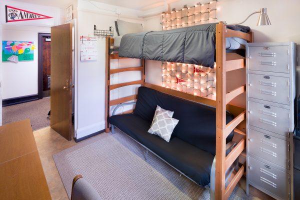 Best Room Contest finalists' room in Barnard Hall