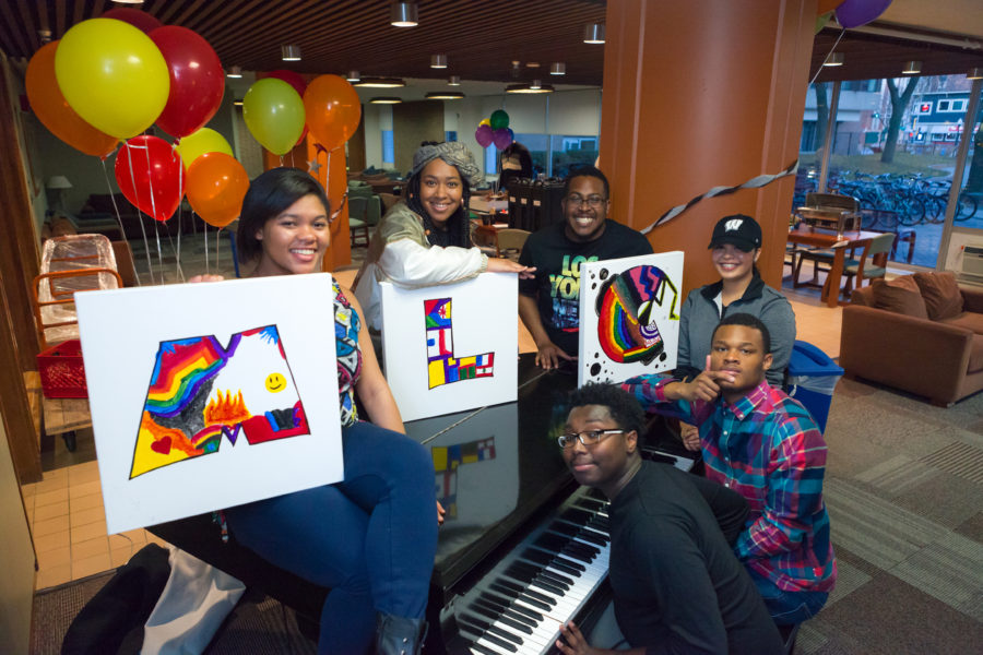 MLC residents enjoy a Hip-Hop Birthday Party