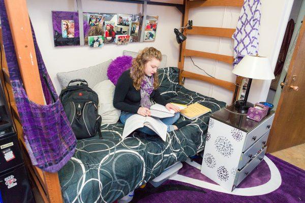 Best Room Contest finalist's room in Barnard Hall