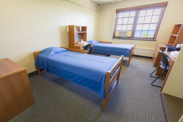 Adult group accommodations in Waters Hall.