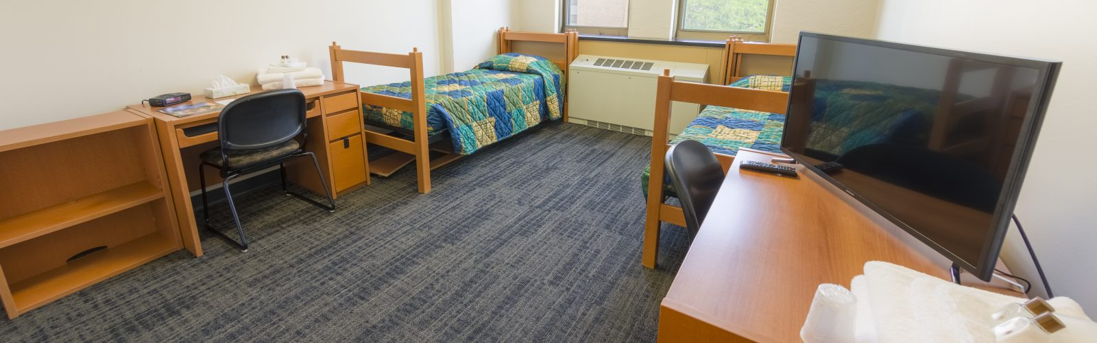 Platinum level room in Ogg Residence Hall