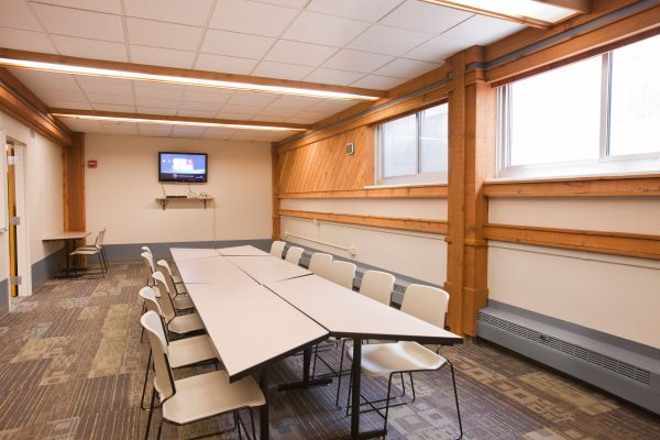Classroom in Bradley Hall.