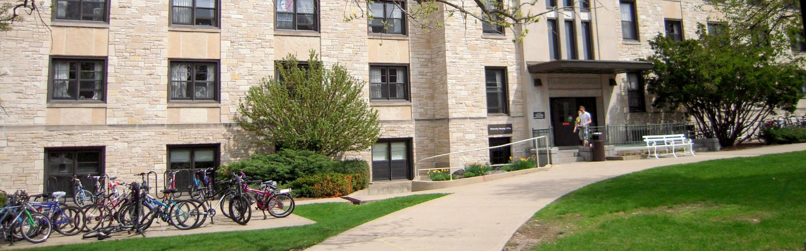 Exterior of Slichter Hall.