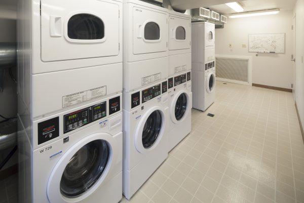 Laundry room in Harvey Street.