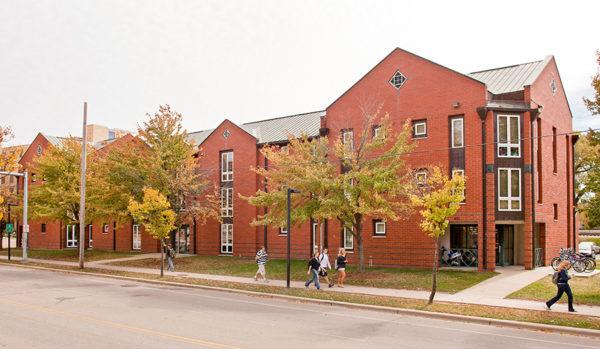 Merit Residence Hall in 2010