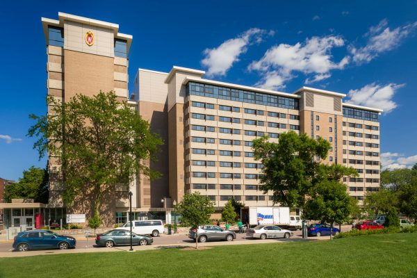 Exterior photo of Witte Residence Hall