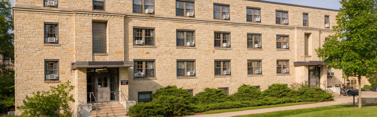 Exterior photo of Jorns Hall