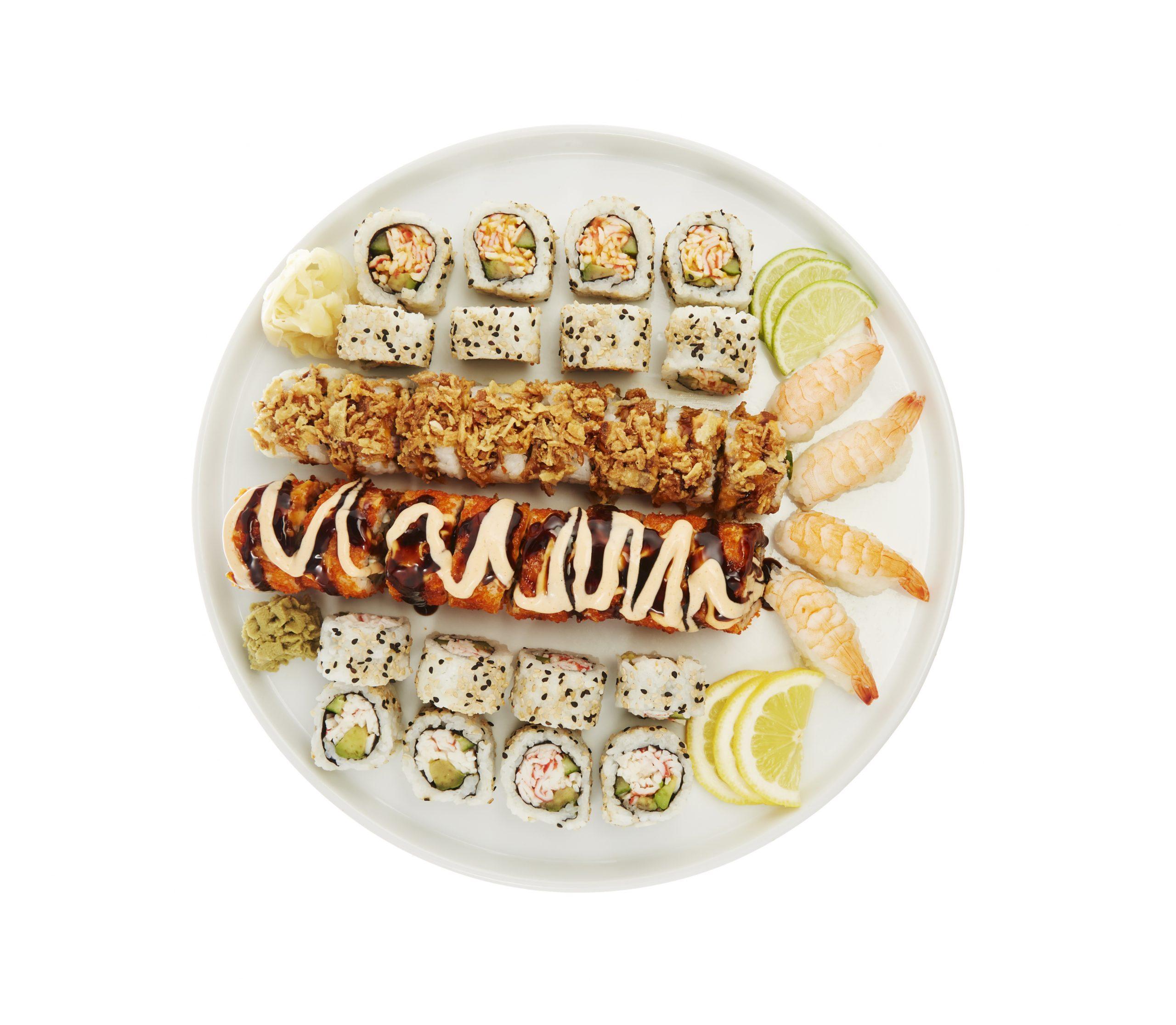 Akita Sushi Platter (36 pieces) (serves 3-4)