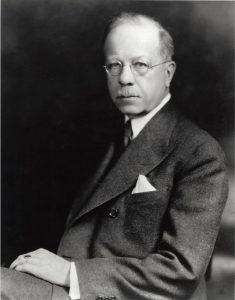 Willard Bleyer portrait