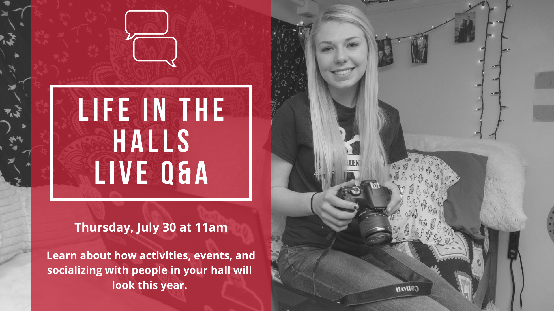 Life in the Halls Live Q&A