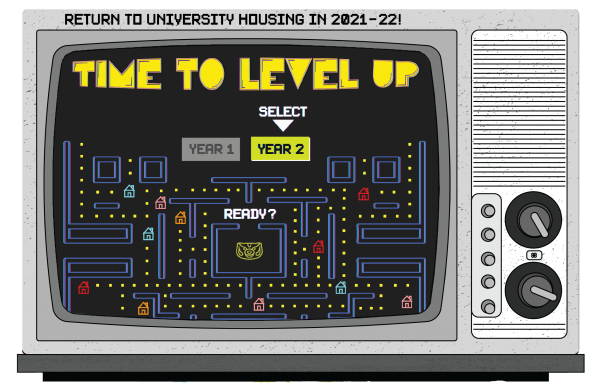Return to University Housing in 2021-22 - Time to Level Up