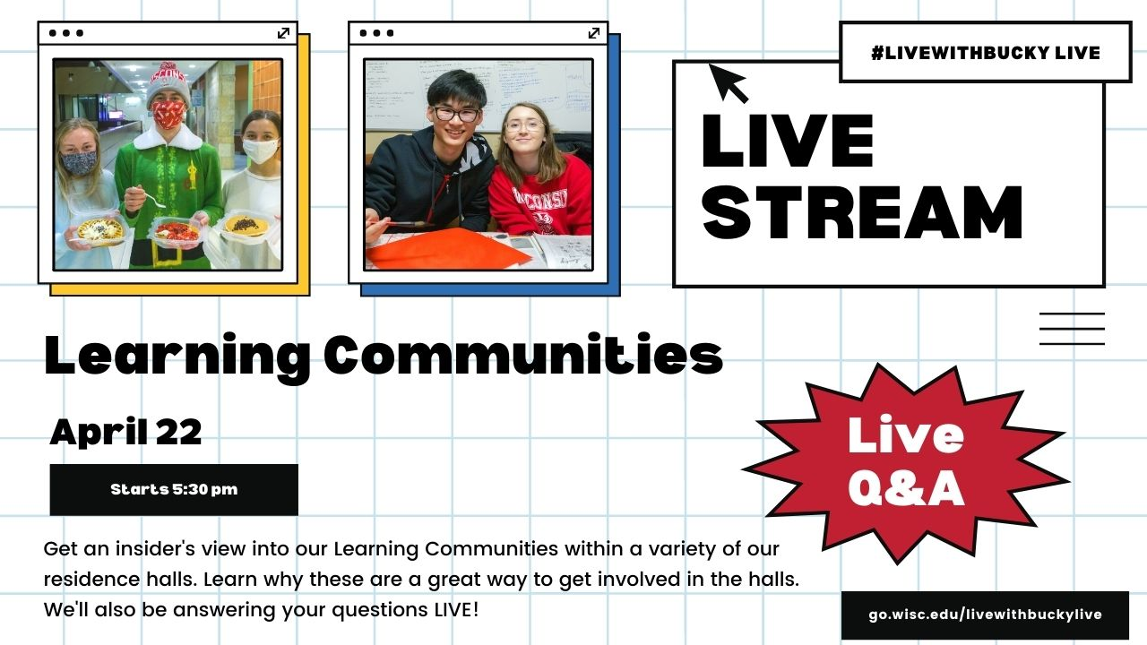 #LiveWithBucky Live - Learning Communities - 4/22