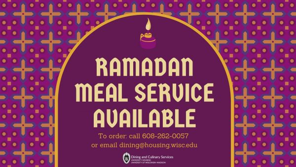 Ramadan Meal Service Available