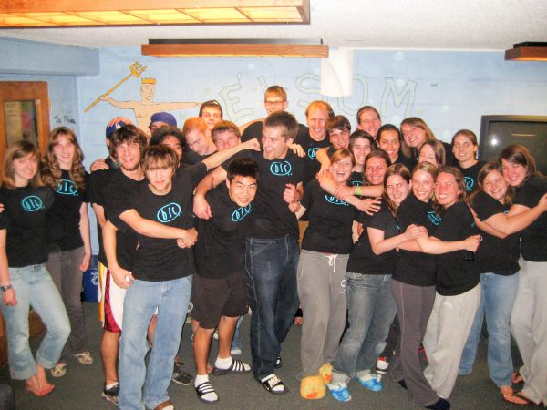 Group photo of BLC residents
