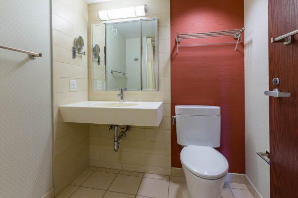 Lowell Single with Bath bathroom photo