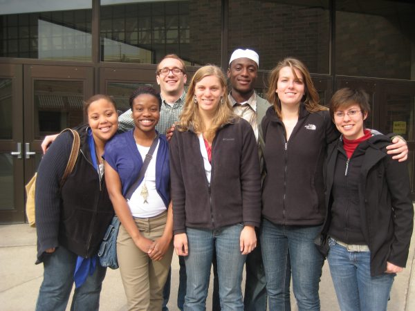 BLC students at National White Privilege Conference