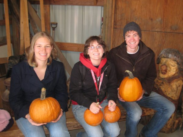 BLC trip to pumpkin patch