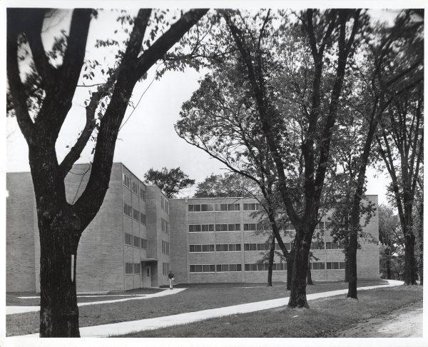 Bradley Hall northeast exterior