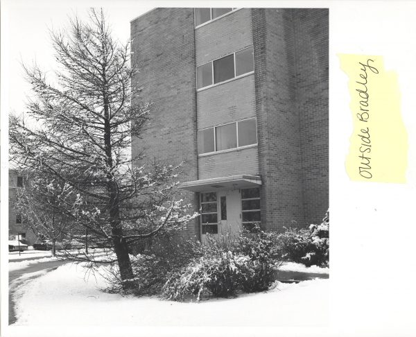 Bradley Hall north exterior