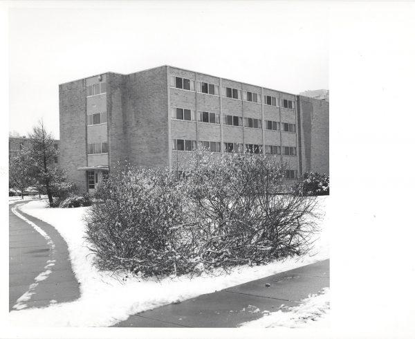 Bradley Hall in winter