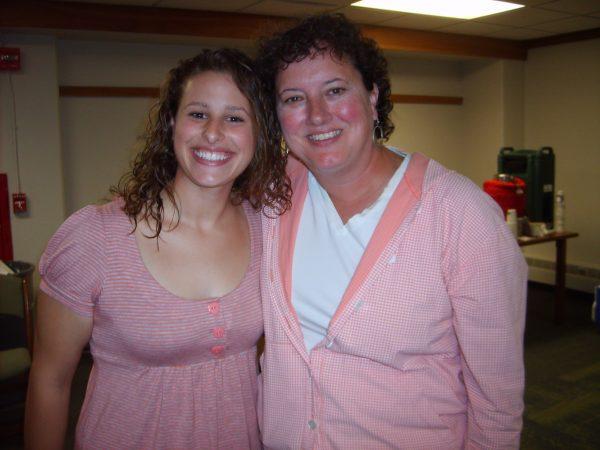 Peer Mentor Emily Hawley and Faculty Fellow Liz McCarthy