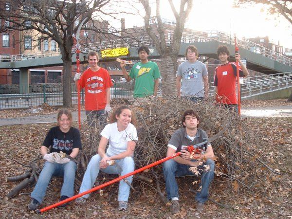 BLC residents help prune trees