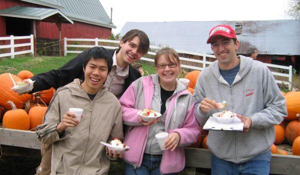 BLC trip to a pumpkin farm