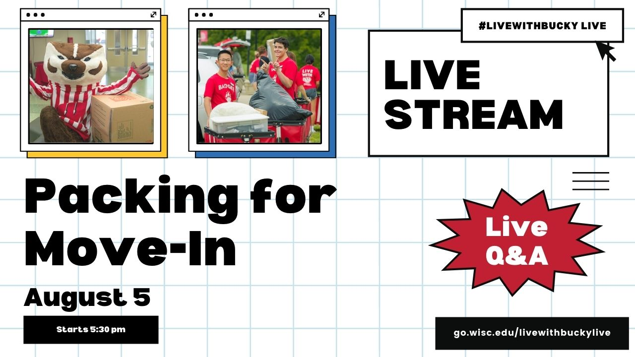 #LiveWithBucky Live: Packing for Move - in 8/5