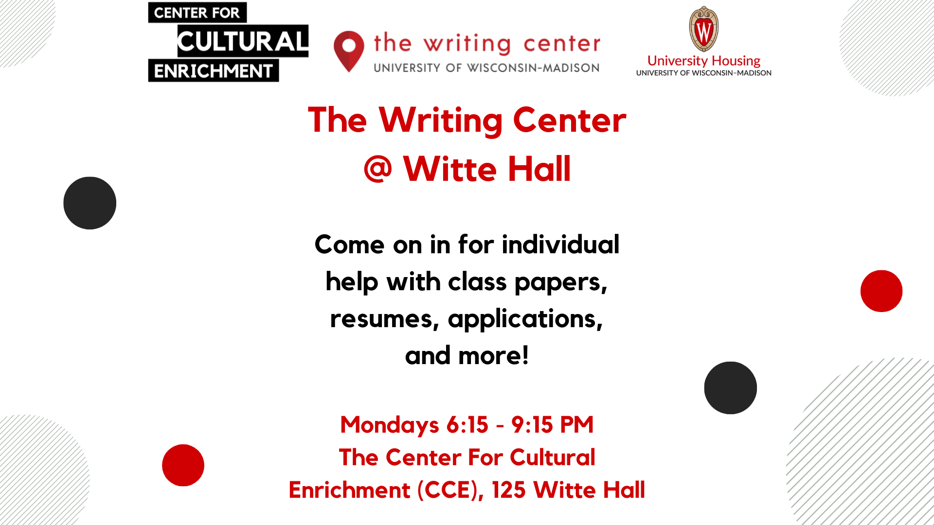 CCE Writing Center